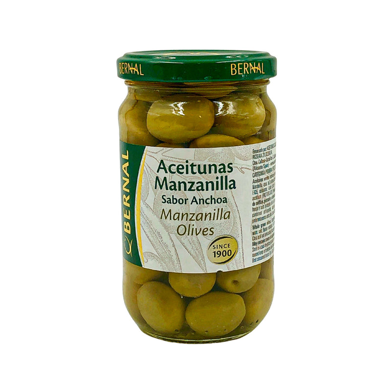 Bernal Manzanilla Olives with Anchovy Flavor