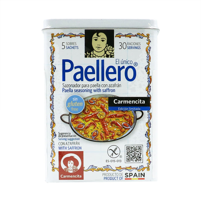CARMENCITA Paellero Paella Seasoning With Saffron (5 packets)
