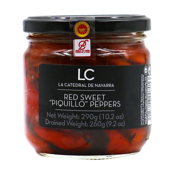 LA CATEDRAL Red Sweet Whole Piquillo Peppers