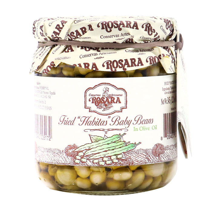 "ROSARA Fried ""Habitas"" Baby Beans In Olive Oil"