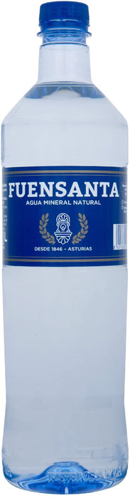 "Fuensanta Natural Water 33.8 oz (1 Lt) - <span style=""color: #ff2a00;"">Only Available for Delivery in NYC area!</span>"