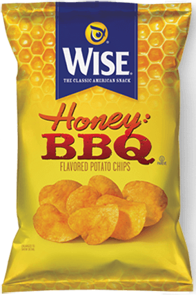 Wise Honey BBQ ( 14 in case )