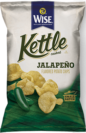 Wise Kettle Jalapeno ( 10 in case )
