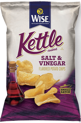 Wise Kettle Salt & Vinegar ( 10 in case )