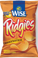 Wise Ridgies Cheddar Sour Cream (14 in case)