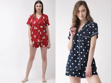 Load image into Gallery viewer, Women Printed Night suit In Combo Offer
