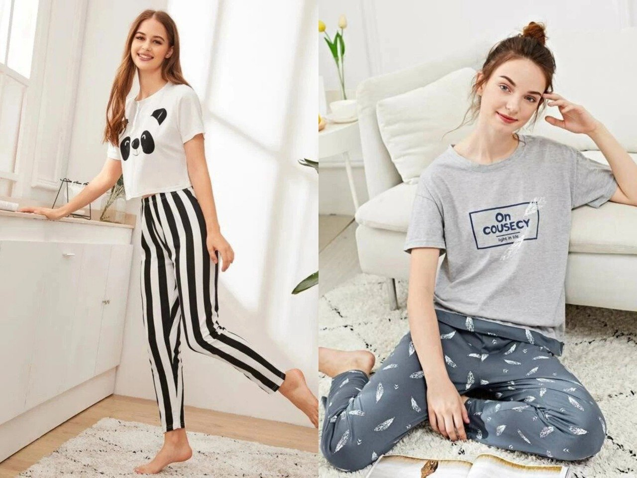 Women Printed Night suit In Combo Offer