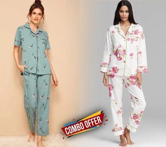 Combo Night Suit For Girls And Woman Drashtifashion-9