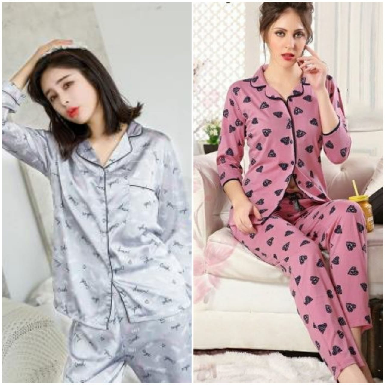 Combo Night Suit For Girls And Woman HS-51