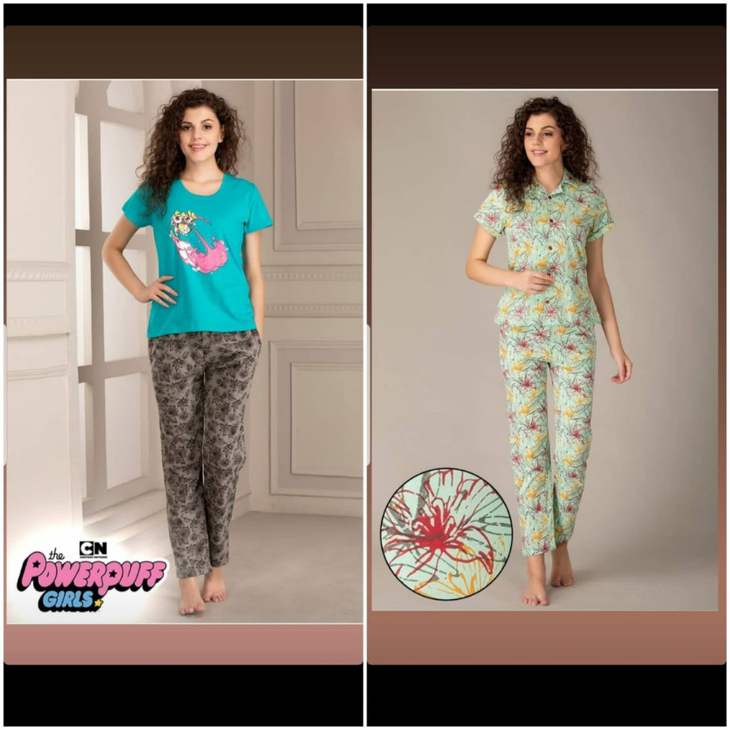 Combo Night Suit For Girls And Woman HS-9