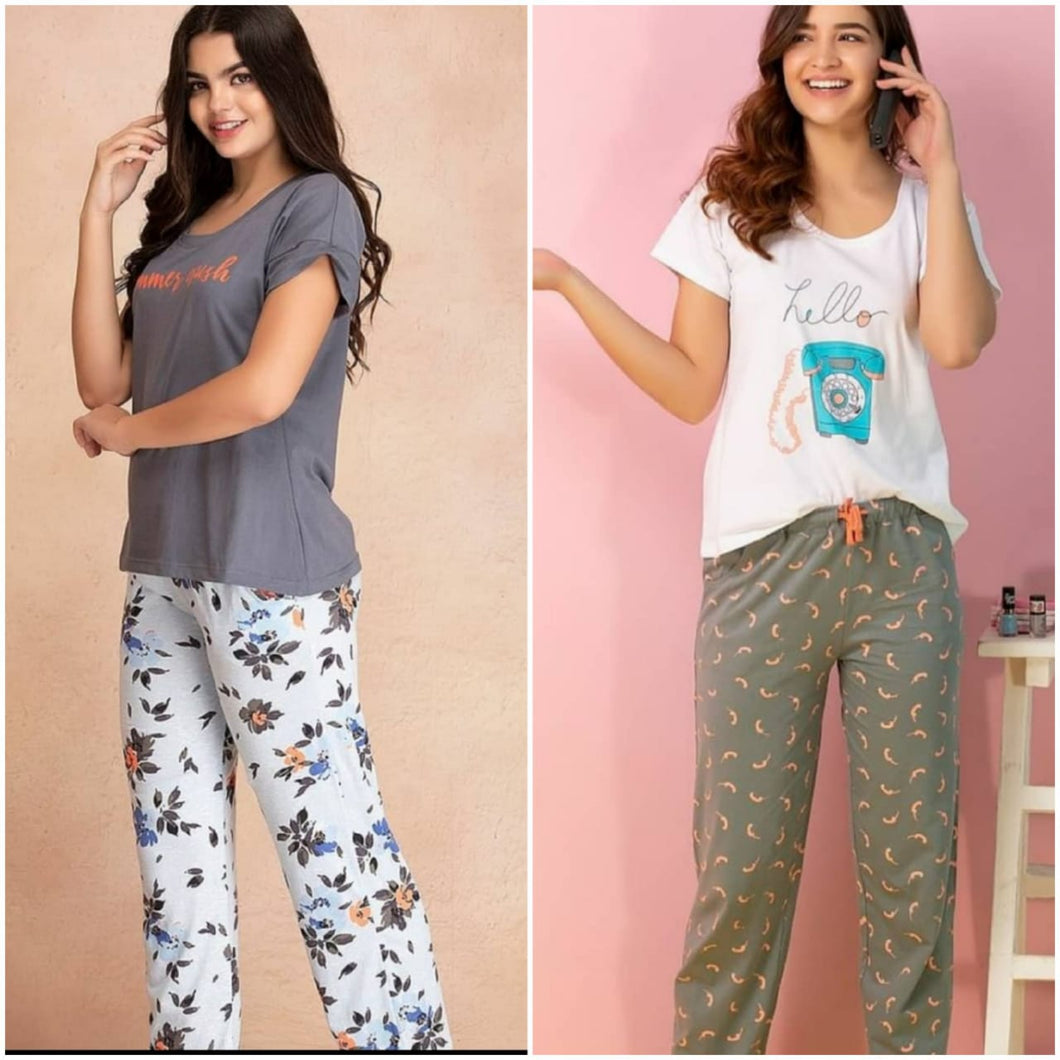 Combo Night Suit For Girls And Woman HS-14