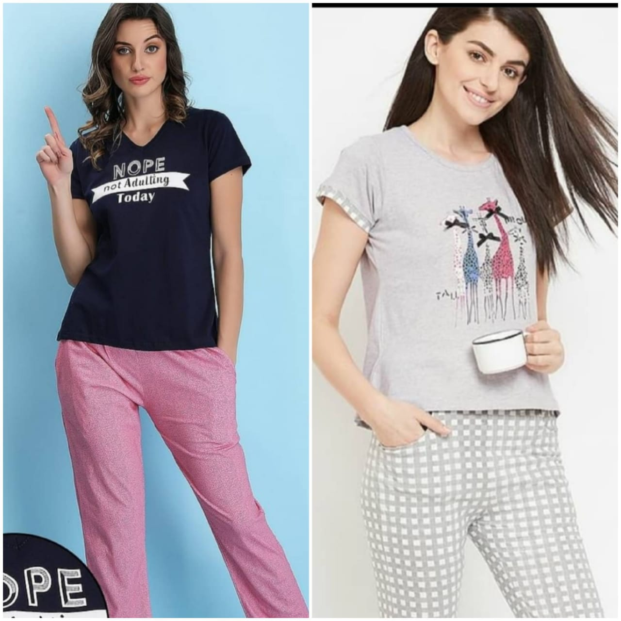 Combo Night Suit For Girls And Woman HS-13