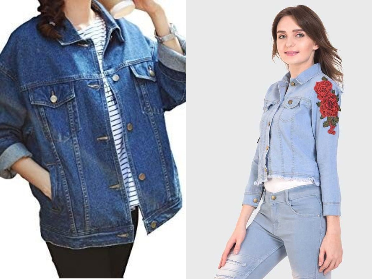 Combo Denim Jacket For Woman @Happyshopi