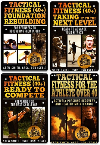 New Rules for Fitness Over 40! Tactical Fitness 40+ Book Series (52 weeks):