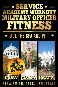 1BOOK-mil: Candidate Fitness Assessment Workout: USNA, USAFA, USMA (Service Academies)