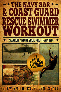 BOOK-mil:  US Navy and Coast Guard Rescue Swimmer Workout (updated 2020)