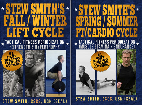 COMBO - Fall-Winter and Spring-Summer (Stew Smith's Personal Program) BOOKS