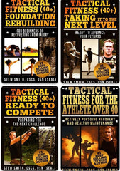 4BOOKS - Tactical Fitness 40+ Four Part Series (Buy 3 Get 1 Free)