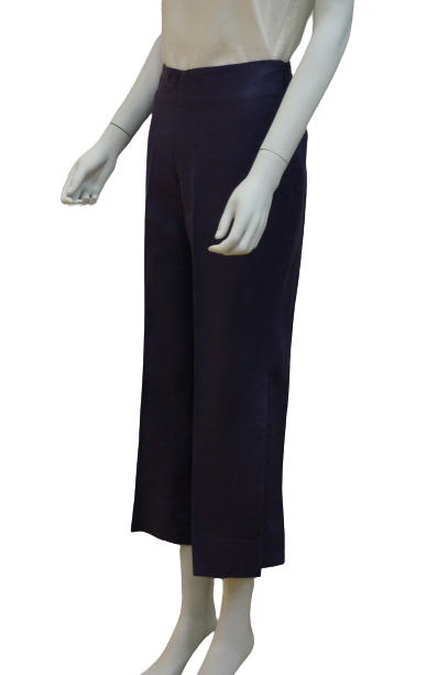 LONG LINEN PANTS WITH SIDE SLITS