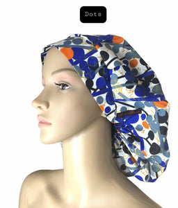 Large Satin-Lined Bonnets
