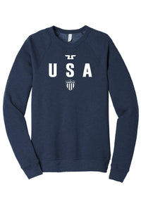 Tusah USA Shield Fleece Raglan Sweatshirt