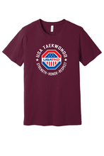 Load image into Gallery viewer, USATKD Emblem (Color) Short Sleeve Tee