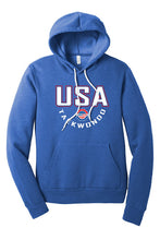 Load image into Gallery viewer, USA Taekwondo Full Print #2 Fleece Pullover Hoodie