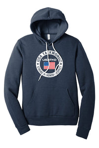 USATKD Flag (Color) Fleece Pullover Hoodie