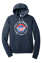 Load image into Gallery viewer, USATKD Emblem (Color) Fleece Pullover Hoodie