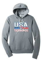 Load image into Gallery viewer, USA Taekwondo Full Print Fleece Pullover Hoodie