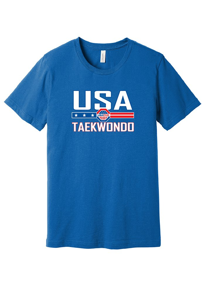 USA Taekwondo Full Print Short Sleeve Tee