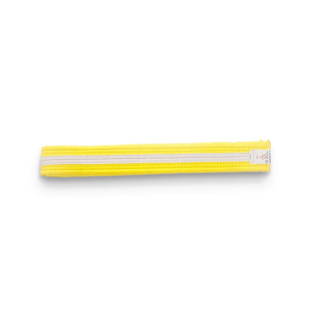 STRIPED BELT YELLOW