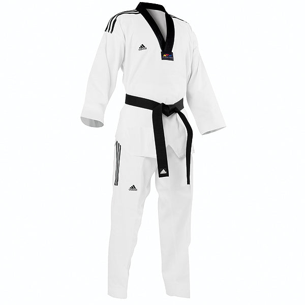 Uniform TKD Adidas Grand Master Stripe Black