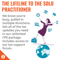Total Practice Solo - Unlimited CPE > 1 member – Annual Subscription