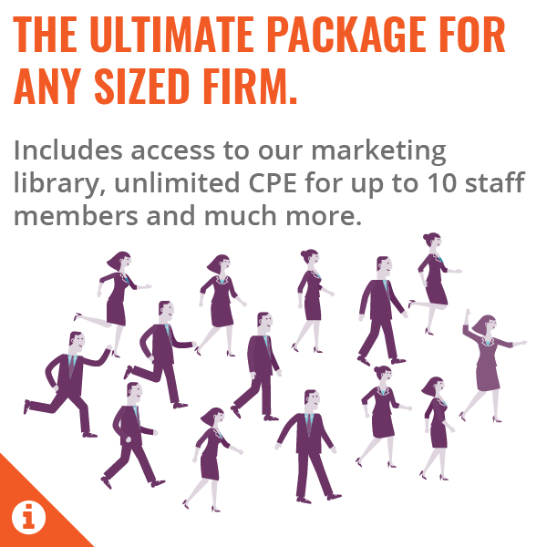 Total Practice Premium - Unlimited CPE - 1-10 members - Annual Subscription