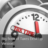 2018 The Big Book of Taxes Desktop Version