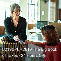 B219CPE - 2019 The Big Book of Taxes - 24 Hours CPE