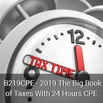 B219CPE - 2019 The Big Book of Taxes With 24 Hours CPE
