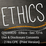 CPE00820P - Ethics - Circular 230 Compliance Issues - 2 Hours CPE (Print Version)