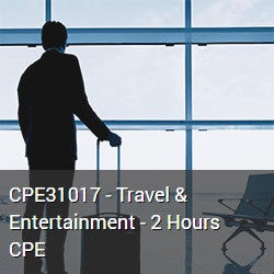 CPE31017 - Travel & Entertainment - 2 Hours CPE