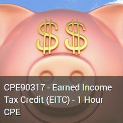 CPE90317 - Earned Income Tax Credit (EITC) - 1 Hour CPE