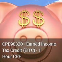 CPE90320 - Earned Income Tax Credit (EITC) - 1 Hour CPE