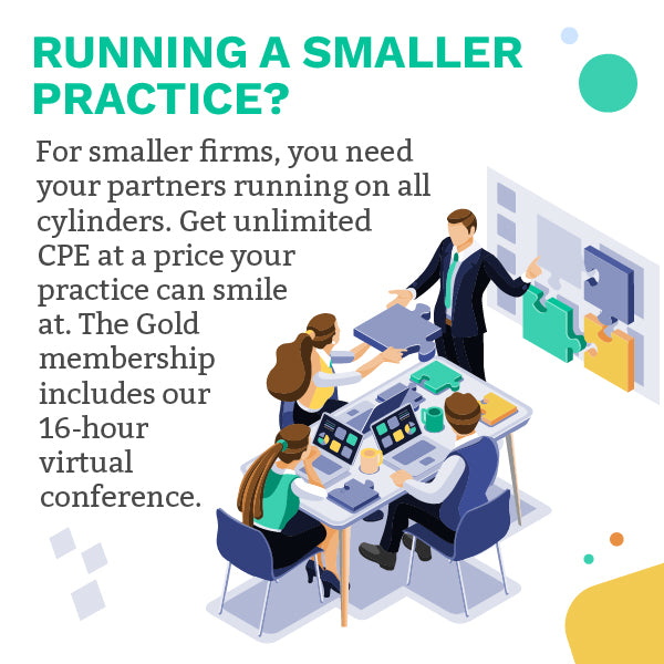 Total Practice Gold Membership