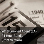 2018 Enrolled Agent (EA) 24-Hour Bundle (Print Version)