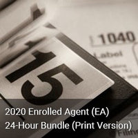 2020 Enrolled Agent (EA) 24-Hour Bundle (Print Version)