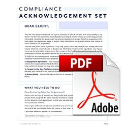 Compliance Acknowledgement Set PDF
