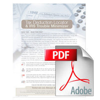 TDOA-PDFW Tax Organizer PDF Suite - 3 Versions
