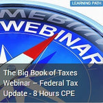 The Big Book of Taxes Webinar – Federal Tax Update