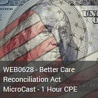WEB0628 - Better Care Reconciliation Act MicroCast - 1 Hour CPE