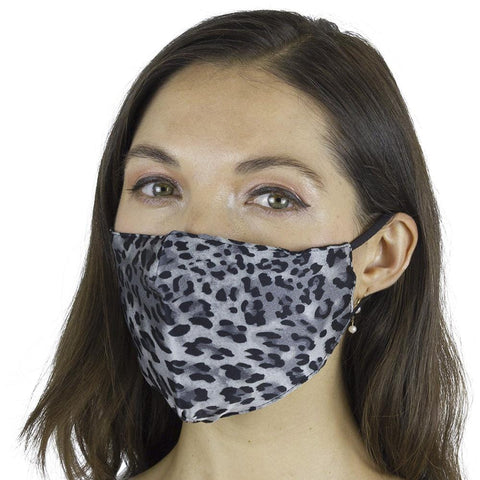 Camo & Silver Cheetah Animal Printed 3 PC Pack Face Covering